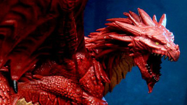 Snag Yourself A Pair Of Pre-Painted Dragons From WizKids