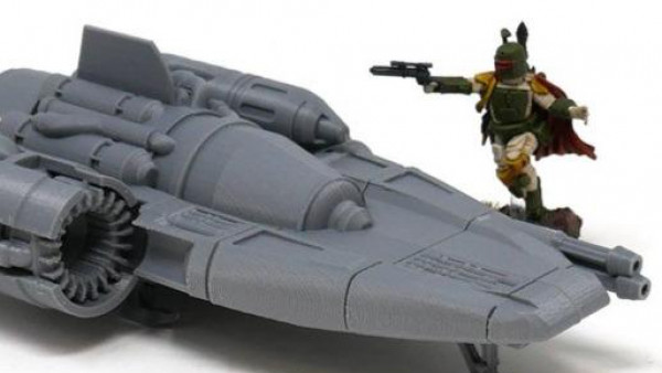 Imperial Terrain Show Off New Sci-Fi IT4 Recon Ship