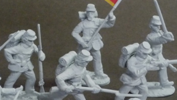 Spencer Smith March Out 42mm American Civil War Miniatures