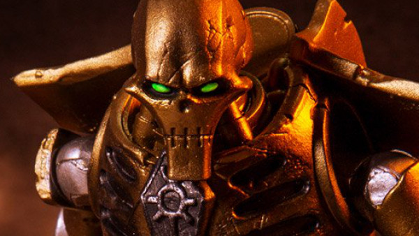 Warhammer 40K Necron & Space Marine Action Figures Coming Soon