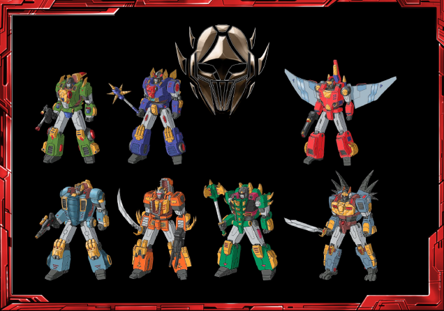 The Beastlord faction bundle, 1 of each of the different bots