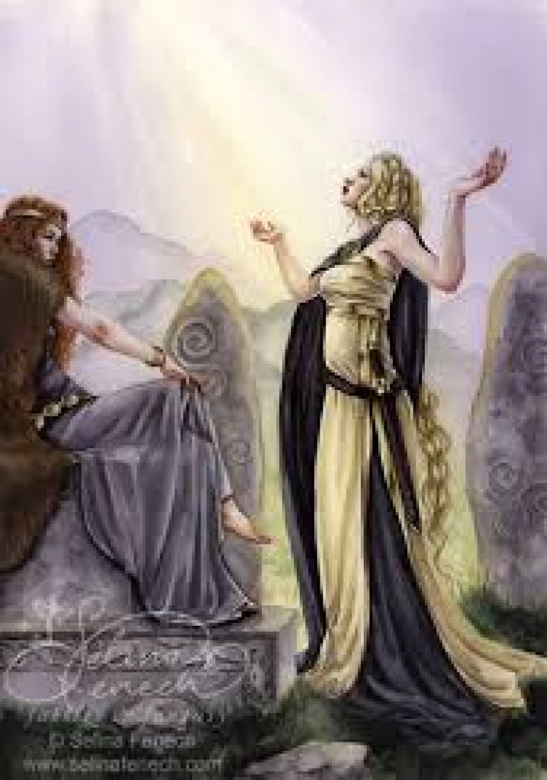 Fidelma was a mythical warrior figure who also gave prophecies