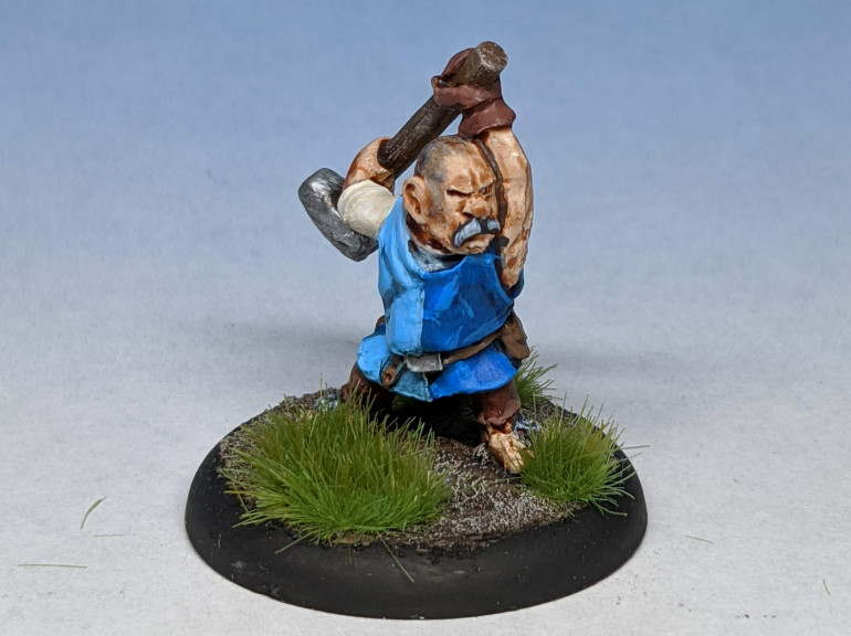Barry Smith.  The town Blacksmith, always ready to use his smelting hammer in defence of his hometown