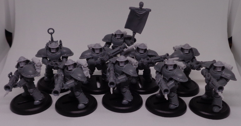 Trencher Ironsides (WIP)- armored assault troopers