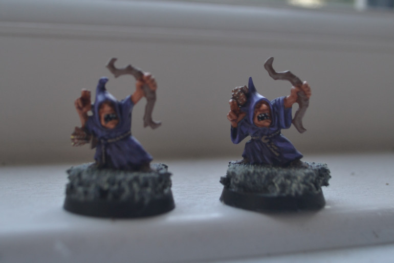 I hate batch painting, I don't think I can't do it at all I just find it soul crushingly awful seeing lines of figures in front of me, managed to do these two at once though.