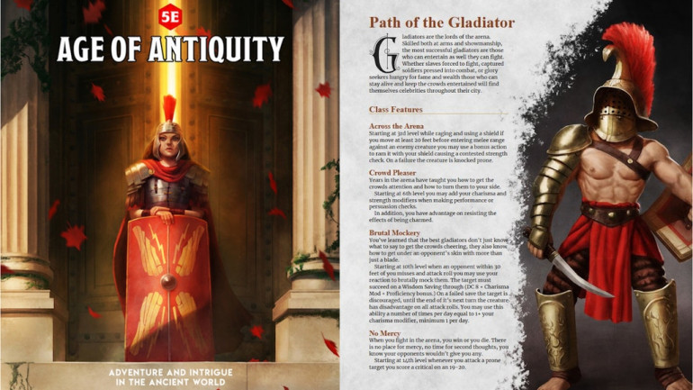 Age of Antiquity: An Ancient World Setting for 5E