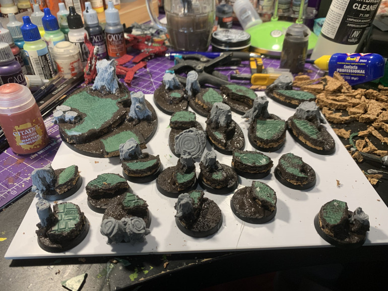 Cutting and gluing the Bases