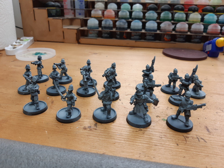 Primed with airbrush new from OTT store after breaking old one.