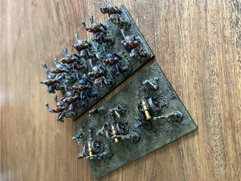 Knights and cannons