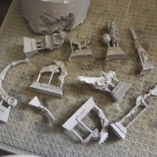 Forgeworld Resin easy mould release clean