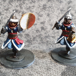 Soldiers Painted