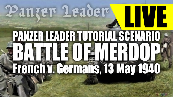 Community Wargame Video Replay – French v. Germans 1940