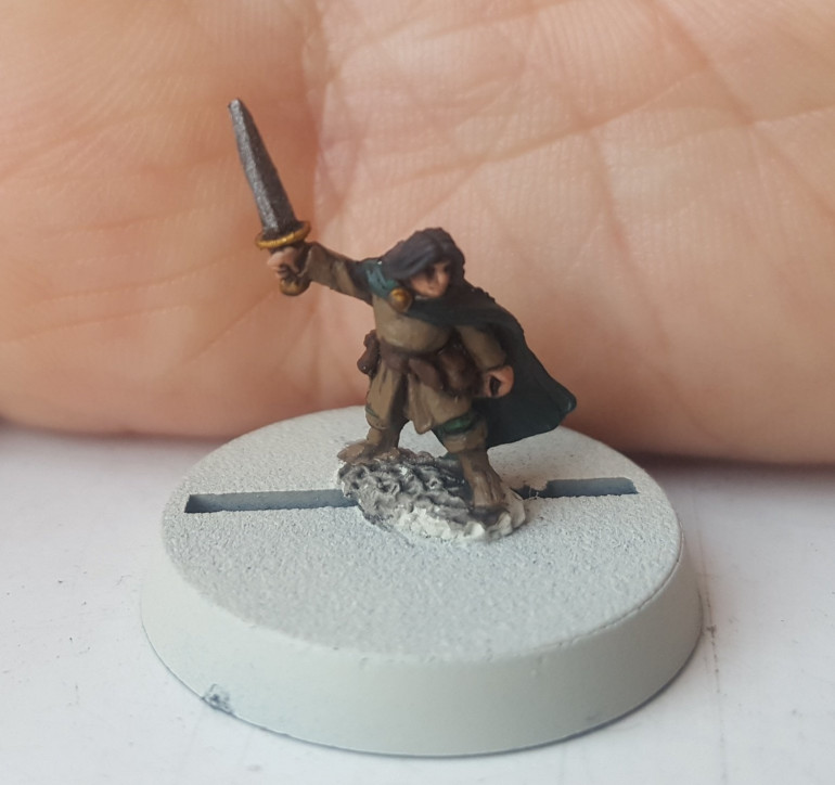 The Little Fellowship (10mm Lord Of The Rings)