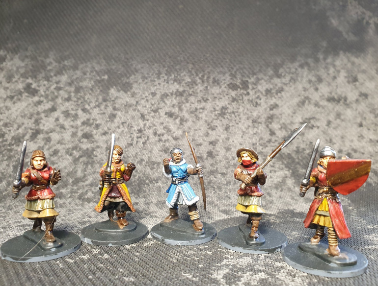 First Few Soldiers Painted