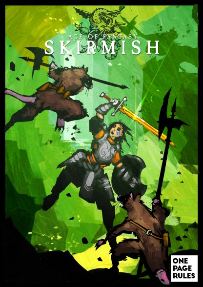 Age Of Fantasy Skirmish - One Page Rules