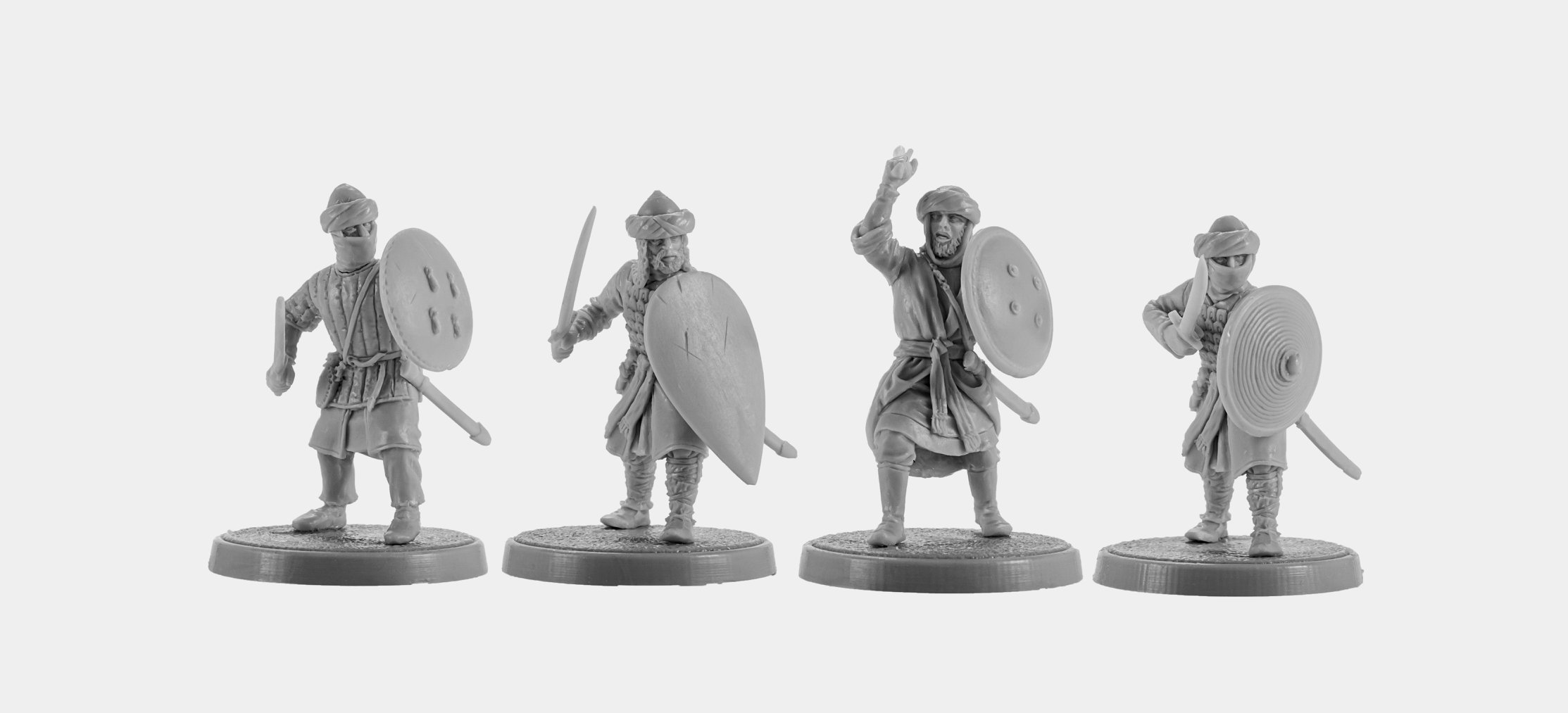 Arab Infantry New #2 - V&V Miniatures