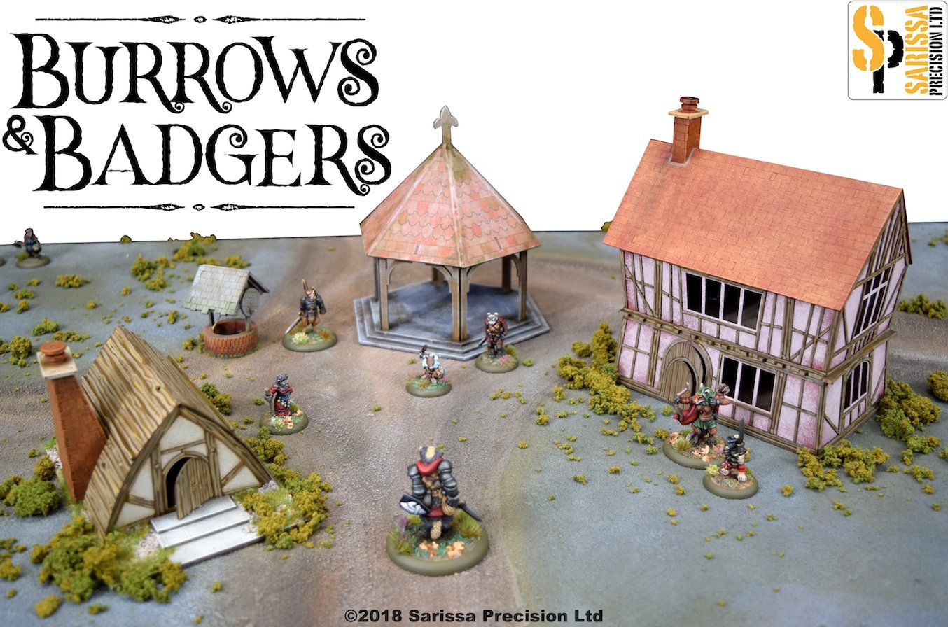 Burrows & Badgers Collection #1 - Sarissa Precision