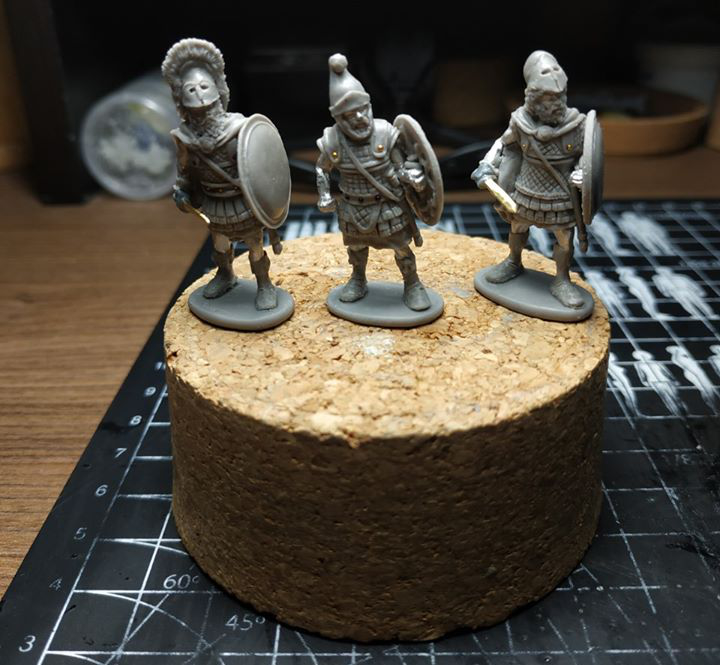 Etruscan In Composite Armour - Agema Miniatures