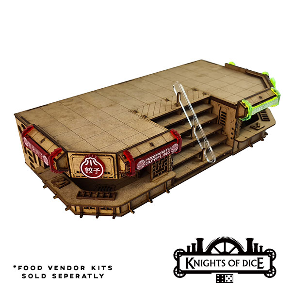 Foodcourt Rooftop Platform - Knights Of Dice