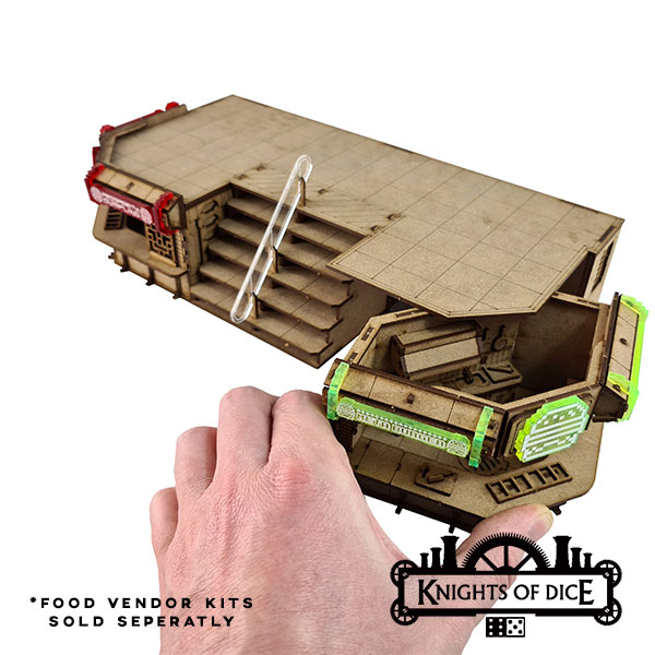 Foodcourt Rooftop Platform Separated - Knights Of Dice