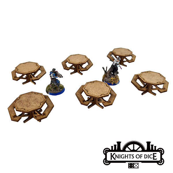 Foodcourt Tables - Knights Of Dice