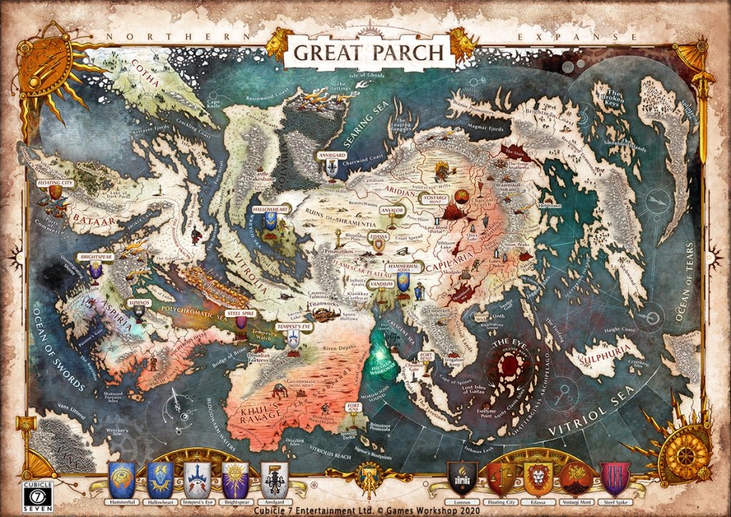Great Parch Map - Cubicle 7