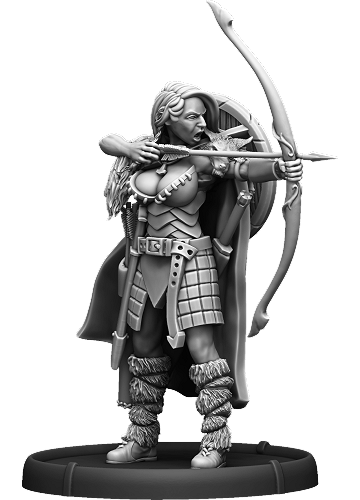 Hunter Joanna - Mierce Miniatures
