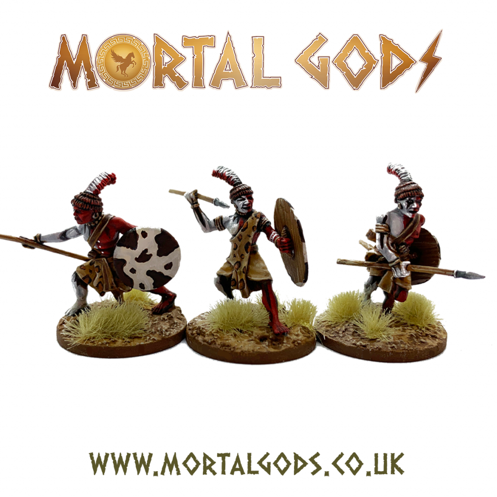 Kushite Warriors - Mortal Gods