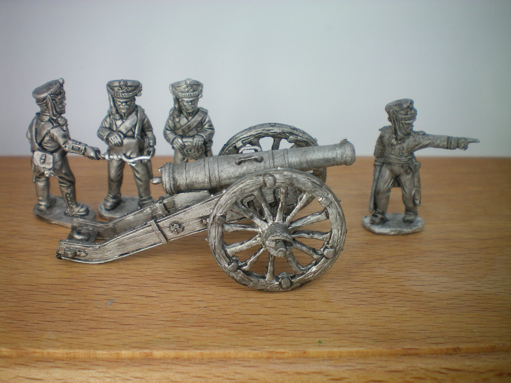 Russian Howitzer & Crew - Eagle Figures