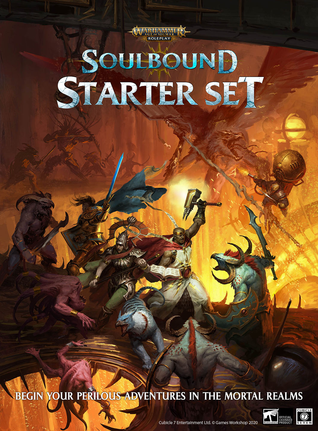 Soulbound Starter Set May - Cubicle 7