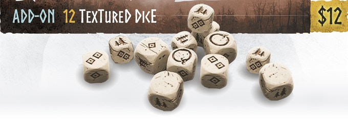 Textured Dice - Mythic Games