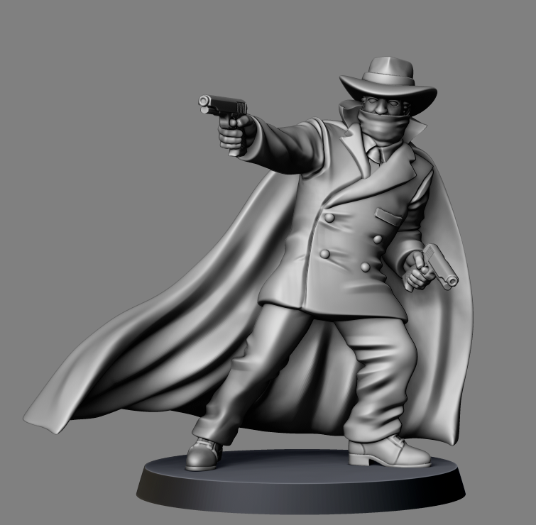 The Ghost - Bombshell Miniatures