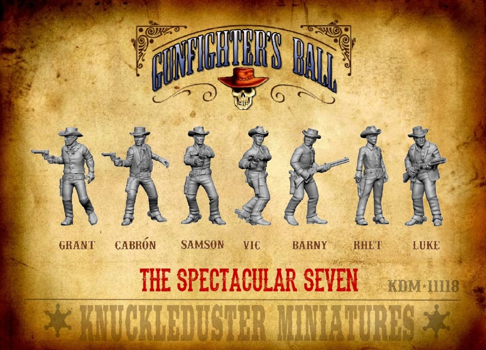 The Spectacular Seven - Knuckleduster Miniatures