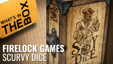 Unboxing: Scurvy Dice | Firelock Games