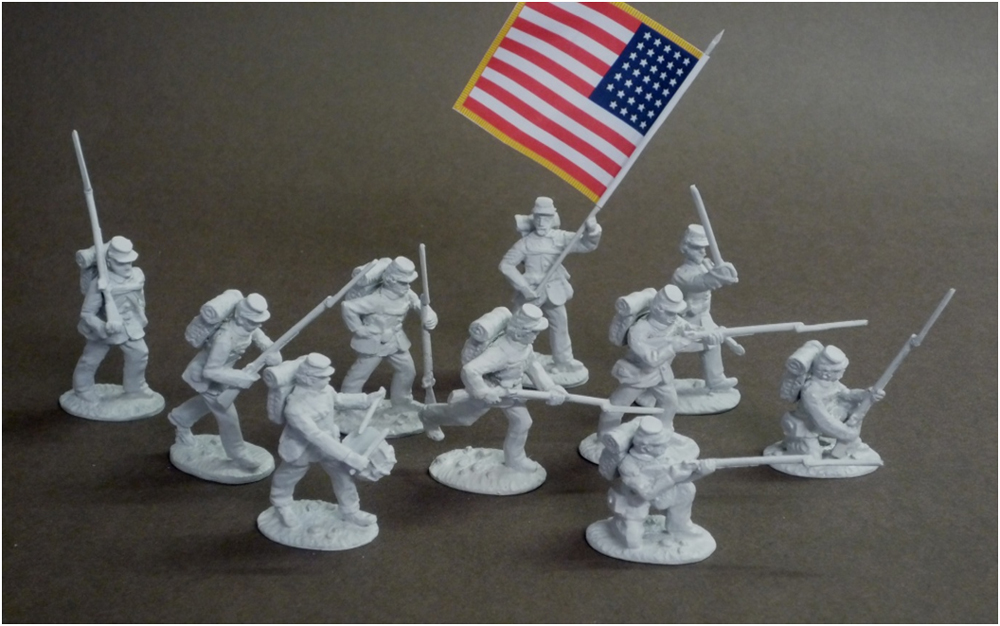 Union Infantry - Spencer Smith Miniatures