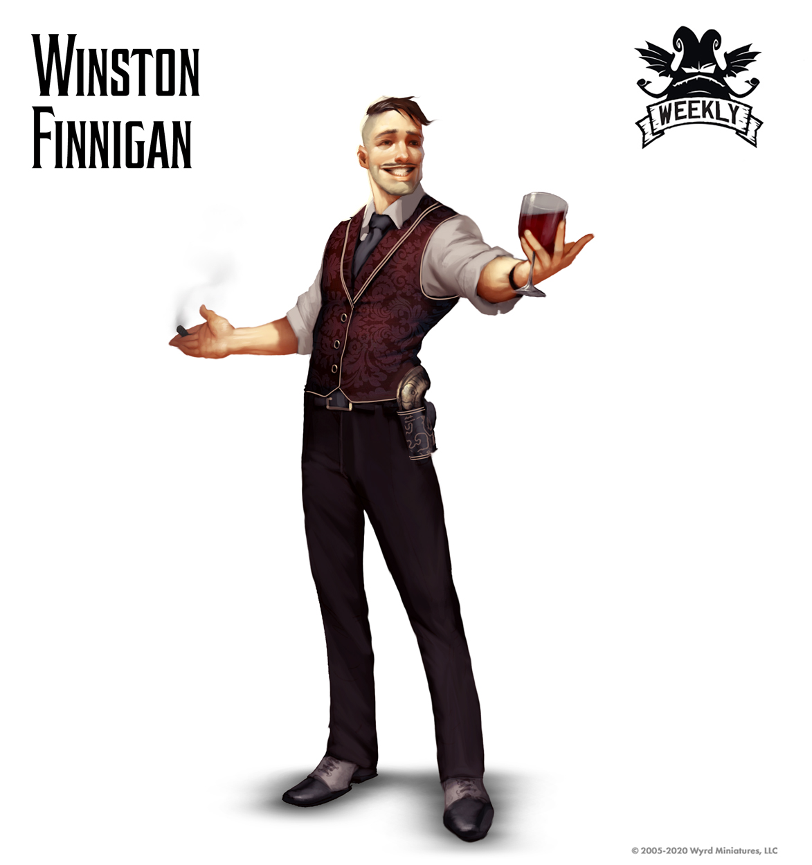 Winston Finnigan Art - Wyrd Games