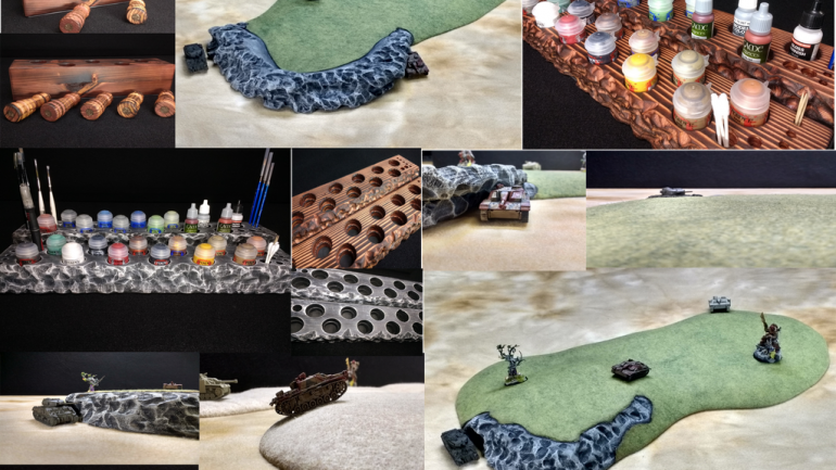 Sic Creations Inc Terrain & Table top Accessories F.1