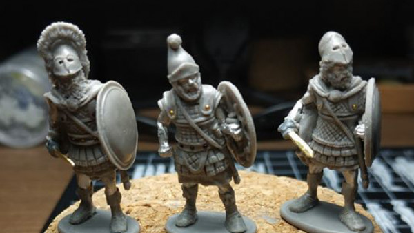 Agema Preview More Kickstarter Bound Etruscan Warriors