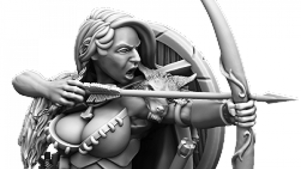 New Hunting Wolves & A Sci-Fi Terrors From Mierce Miniatures