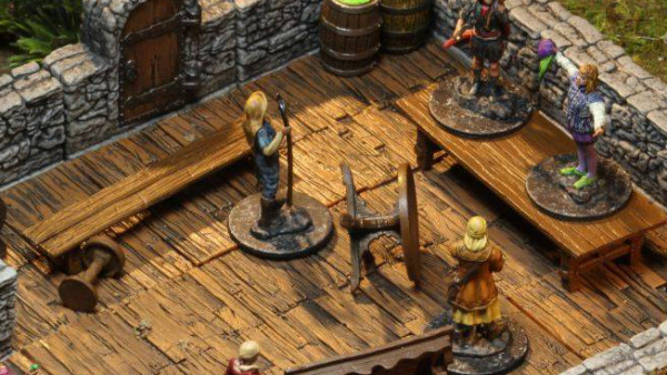 WizKids Prep New Pre-Painted WarLock Tiles Dungeons