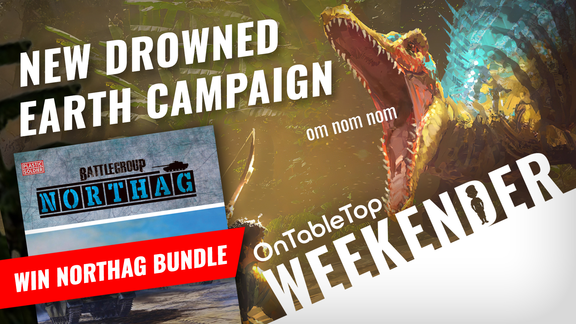 Weekender: WIN Two-Player Battlegroup Bundle + The Drowned Earth; New Game Coming Soon!