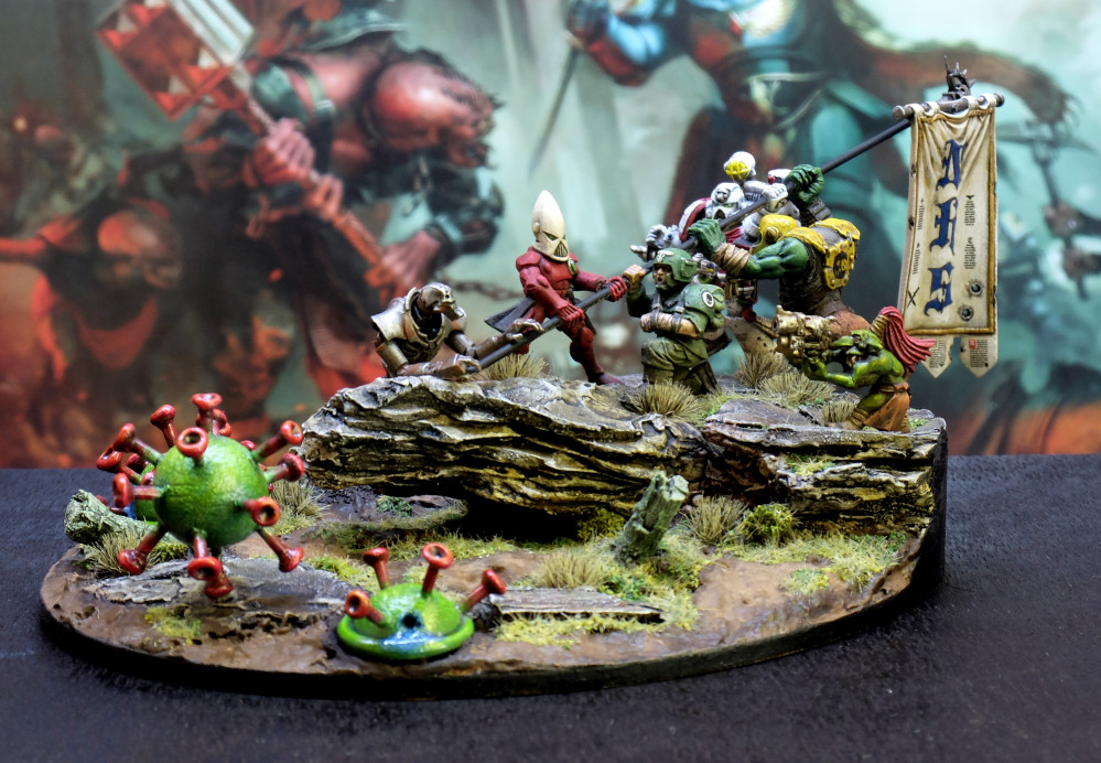 Bits Box Raid – For The Greater Good – Spring Clean Challenge (Irony is there is no Tau)