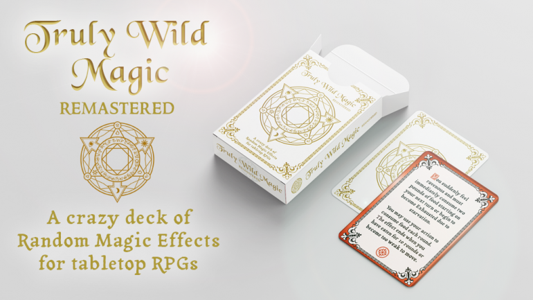 Truly Wild Magic: Remastered! Random Magic Effects for RPGs!