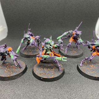 Raging Heroes Tech-Priest Dominus and squad of Sicarian Infiltrators