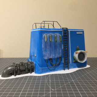 Sludge Processing Unit - Kitbashing done