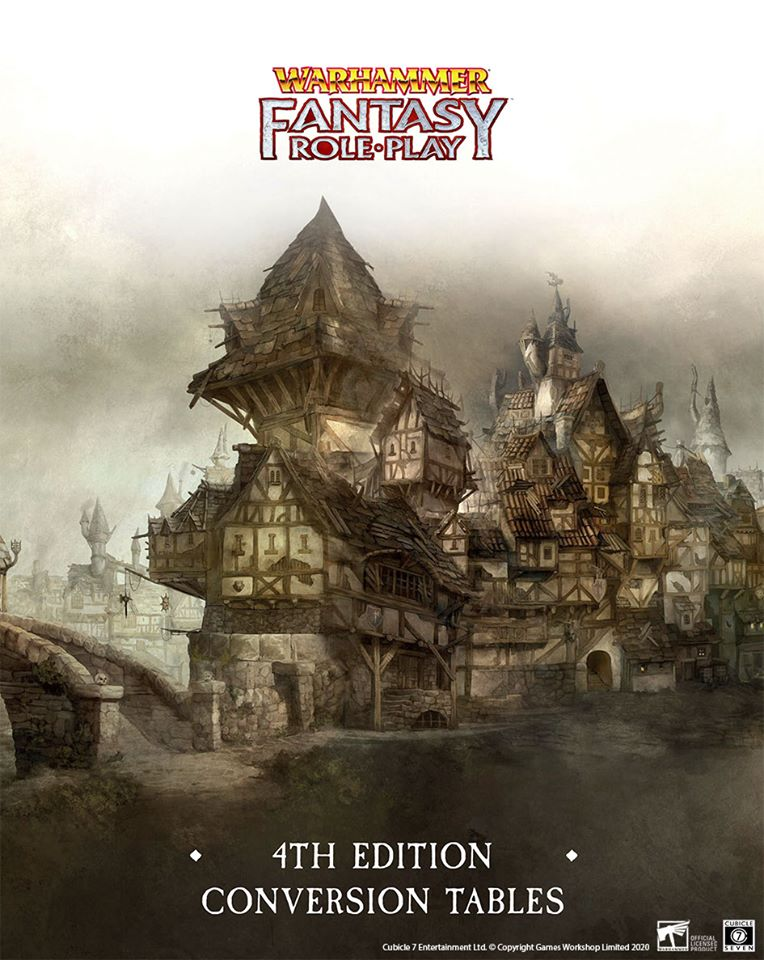 4th Edition Conversion Tables - Cubicle 7