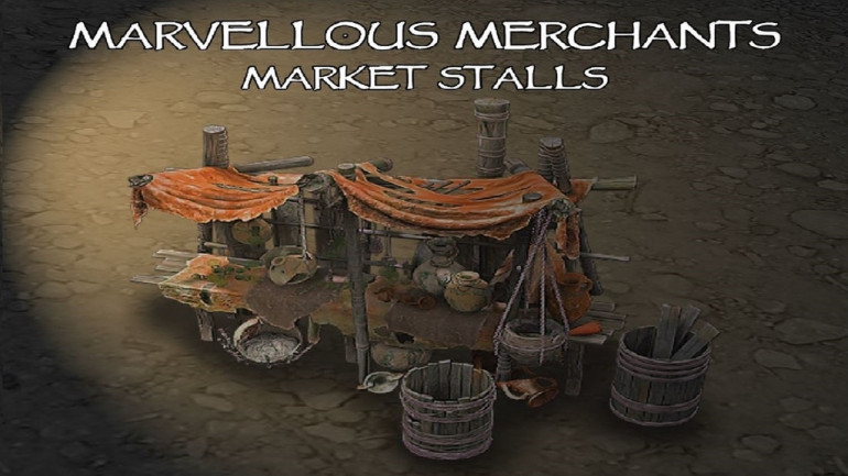 Marvellous Merchants - Market Stalls
