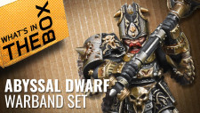 Unboxing: Abyssal Dwarf Warband Set | Kings Of War Vanguard