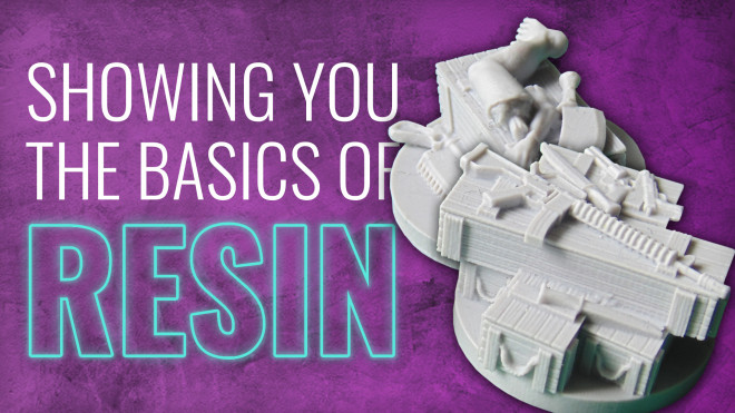 Gerry Can Show You How To Prepare Resin Miniatures