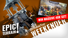 Weekender: WIN 40K Starter Set + Adventuring In New Frostgrave Wargaming Terrain!